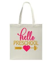 Hello Preschool Tote Bag thumbnail