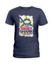 Teacher Shark Do Do Do Do Your Work Ladies T-Shirt thumbnail