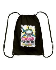 Teacher Shark Do Do Do Do Your Work Drawstring Bag thumbnail
