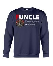 Funcle Firefighter Crewneck Sweatshirt thumbnail