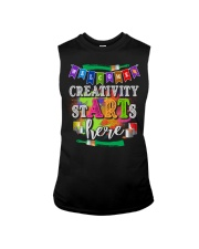 Creativity starts here T-Shirt Sleeveless Tee thumbnail