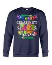 Creativity starts here T-Shirt Crewneck Sweatshirt thumbnail