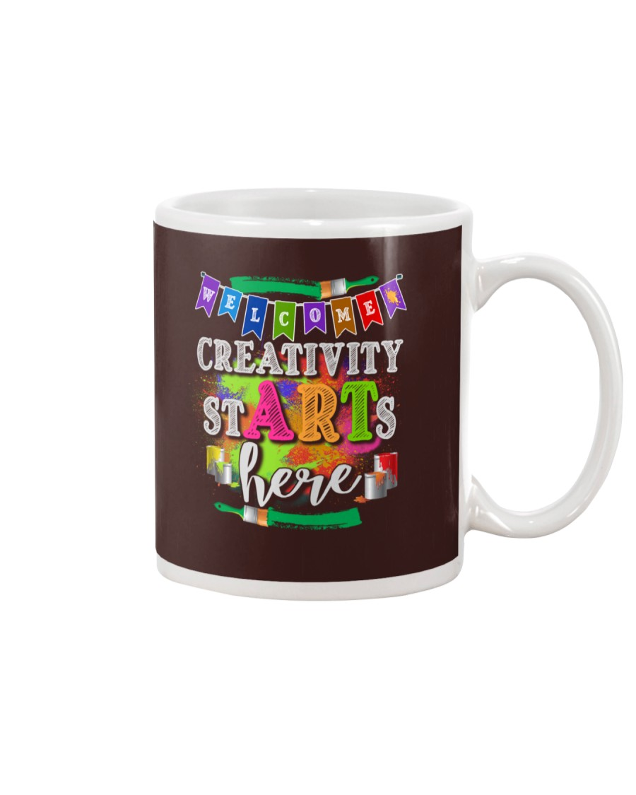 Creativity starts here T-Shirt Mug