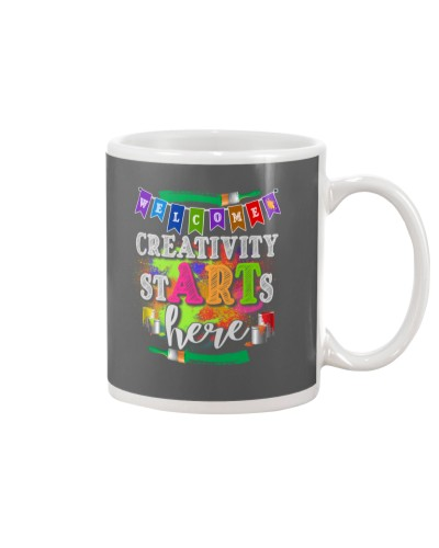 Creativity starts here T-Shirt