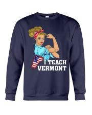 I TEACH VERMONT Crewneck Sweatshirt thumbnail
