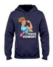 I TEACH VERMONT Hooded Sweatshirt thumbnail