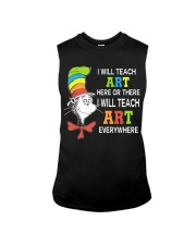 I WILL TEACH ART EVERYWHERE Sleeveless Tee thumbnail