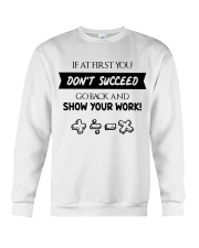 If at first you don't succeed Crewneck Sweatshirt thumbnail