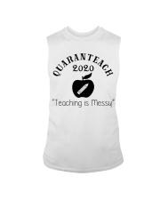 QUARANTEACH 2020 Teaching is messy Sleeveless Tee thumbnail