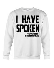 TEACHERS EVERYWHERE Crewneck Sweatshirt thumbnail