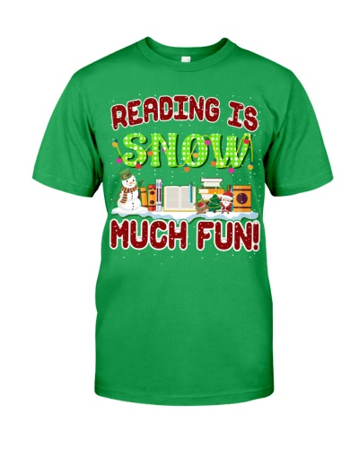 READING IS SNOW MUCH FUN
