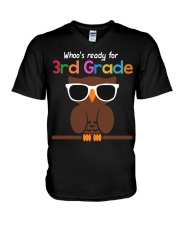 Ready for 3rd grade V-Neck T-Shirt thumbnail