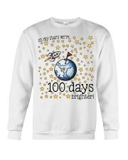OH MY STARS WE ARE 100 DAYS BRIGHTER Crewneck Sweatshirt thumbnail