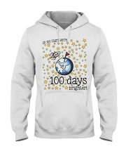 OH MY STARS WE ARE 100 DAYS BRIGHTER Hooded Sweatshirt thumbnail