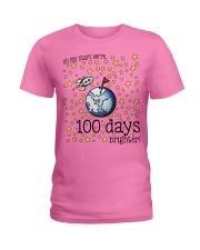 OH MY STARS WE ARE 100 DAYS BRIGHTER Ladies T-Shirt thumbnail