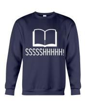 Library sssshhhhh Crewneck Sweatshirt thumbnail