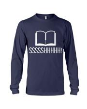 Library sssshhhhh Long Sleeve Tee thumbnail