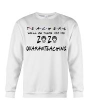 Teachers 2020 QUARANTEACHING Crewneck Sweatshirt thumbnail