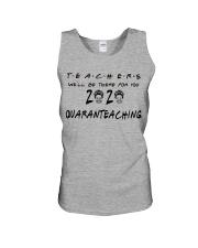 Teachers 2020 QUARANTEACHING Unisex Tank thumbnail