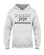 Teachers 2020 QUARANTEACHING Hooded Sweatshirt thumbnail