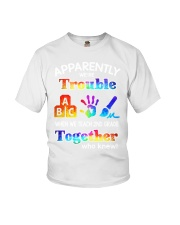2nd grade trouble together Youth T-Shirt thumbnail