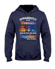 2nd grade trouble together Hooded Sweatshirt thumbnail