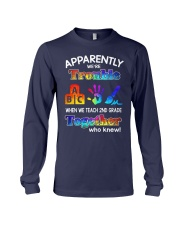 2nd grade trouble together Long Sleeve Tee thumbnail