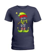 I'M THE ART ELF Ladies T-Shirt thumbnail