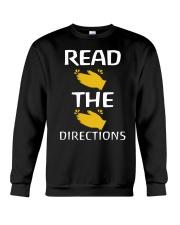READ THE DIRECTIONS Crewneck Sweatshirt thumbnail