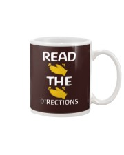 READ THE DIRECTIONS Mug thumbnail