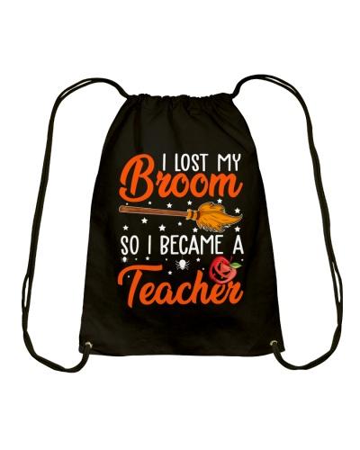 I LOST MY BROOM SO I BECAME A TEACHER