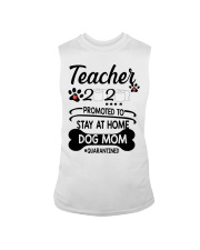 Teacher 2020 - Stay at home Dog Mom  Sleeveless Tee thumbnail