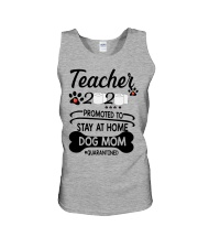 Teacher 2020 - Stay at home Dog Mom  Unisex Tank thumbnail