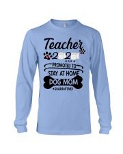 Teacher 2020 - Stay at home Dog Mom  Long Sleeve Tee thumbnail