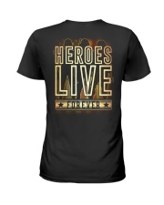 Heroes Live Forever Ladies T-Shirt thumbnail