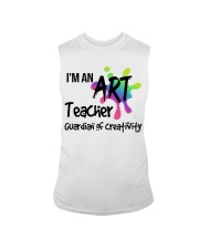 I'm an Art Teacher Sleeveless Tee thumbnail