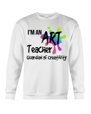 I'm an Art Teacher Crewneck Sweatshirt thumbnail