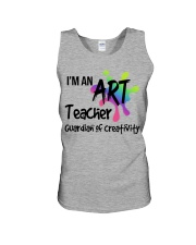 I'm an Art Teacher Unisex Tank thumbnail