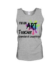 I'm an Art Teacher Unisex Tank thumbnail