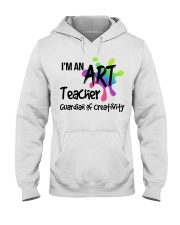 I'm an Art Teacher Hooded Sweatshirt thumbnail