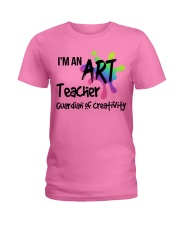 I'm an Art Teacher Ladies T-Shirt front
