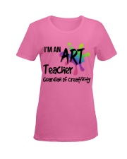 I'm an Art Teacher Ladies T-Shirt women-premium-crewneck-shirt-front