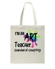 I'm an Art Teacher Tote Bag thumbnail