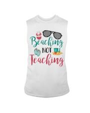 Beaching not Teaching Sleeveless Tee thumbnail