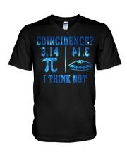 COINCIDENCE I THINK NOT V-Neck T-Shirt thumbnail