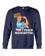 I TEACH WASHINGTON Crewneck Sweatshirt thumbnail