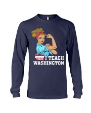I TEACH WASHINGTON Long Sleeve Tee thumbnail