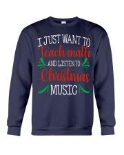 I JUST WANT TO TEACH MATH  Crewneck Sweatshirt thumbnail
