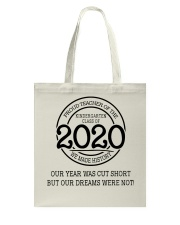 Kindergarten class of 2020 Tote Bag thumbnail
