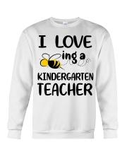I Love being a kindergarten Teacher Crewneck Sweatshirt thumbnail